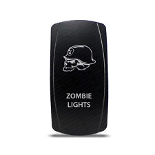 CH4x4 Rocker Switch Zombie Ligths Symbol 4 - Vertical - Green LED