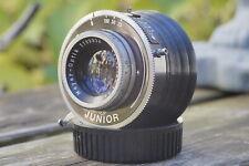 Meyer Optik Trioplan, 1:3,5/75mm red V, für M42 | Vintage lens