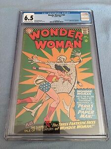 Wonder Woman #165 (Oct 1966, DC) CGC 6.5 ANDRU Cover - Dr. Psycho App