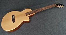 JOHNSON JG-50-NA SOLID CHAMBERED BODY THIN LINE Acoustic-Electric Cutaway