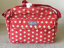 New Lisa Buckridge Shruti Dotty Red Changing Bag