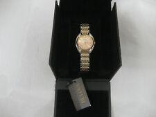 Bulova 98R275 Women's Rose Tone 30mm Gold Stainless Steel Watch