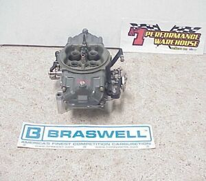 Braswell Holley HP 830 CFM Annular Boosters Gas Racing Carburetor NASCAR  DEI#36