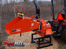 WOODMAXX  WM-8M PTO Wood Chipper with Automatic Feed.