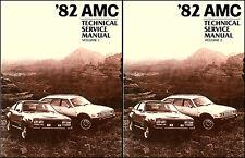 1982 AMC Shop Manual Spirit Eagle Concord 2 Vol Set Repair Service base for 1983