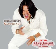 Elvis Crespo Saborealo CD+DVD Like New Not sealed