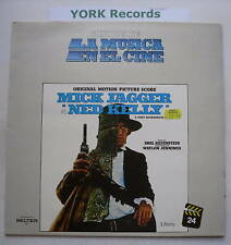 Ned Kelly-Mick Jagger-Ost-Excelente Con Disco Lp