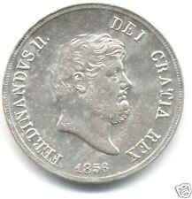 REGNO DUE SICILIE FERDINANDO II° PIASTRA 120 GRANA 1856 MONETA ARGENTO
