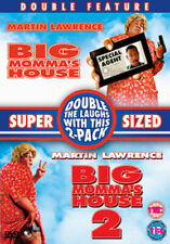 Martin Lawrence Big Momma's House 1 & 2 Family Comedy Double Bill UK DVD