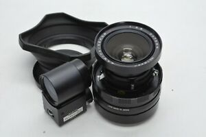[Exc+4] MAMIYA SEKOR P 75mm F5.6 + 75mm Finder For Press From JAPAN #2768