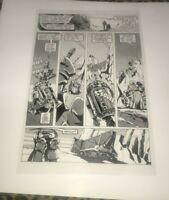 Star Wars New Hope R2D2 C3P0 Jawas Howard Chaykin Production Art Acetate Page