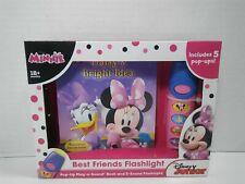 Minnie Pop up play a sound book 5 Sound flashlight