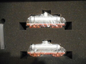 Bachmann On30 Scale 18' Tank Car 2-Pack - Painted, Unlettered