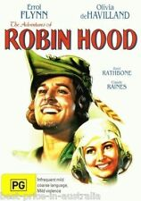 The Adventures of Robin Hood DVD TOP 250 MOVIES  Errol Flynn BRAND NEW R4