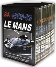 LE MANS  1980-1989 - 24 Hour - 10 Disc Review Sportscar Collection - Rg Free DVD
