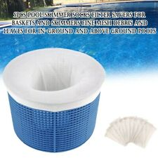 5Pcs Reusable Swimming Pool Skimmer Socks Filter Saver Baskets Screen Mesh