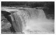W.M. Cline RPPC Postcard View of Falls Cumberland Falls Kentucky 1-Y-19 EKC