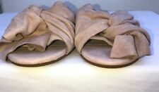 KENNETH COLE NEW YORK WOMEN'S SHOES PINK SUEDE UPPER BOW SLIPPERS US SIZE 8.5 M
