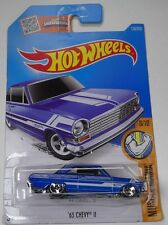 Hot Wheels Muscle Mania #8/10 - '63 CHEVY II #128/250 New In Packet 2015