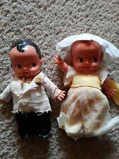 Irwin Baby Dolls Bridesmaid And Groomsman Cute Kewpie Vintage