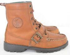 Ralph Lauren Polo Ranger Hi II Buckle Moc Fashion Ankle Boots Youth Boy's US 4