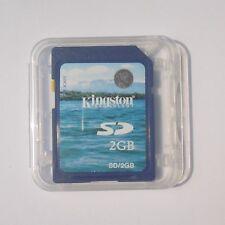 2GB KINGSTON SD 2G SD Secure Digital Flash Memory Card fits Nintendo SD-K02G