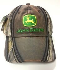 NEW John Deere Realtree Hardwood Camo Leatherlike Waxed Canvas Front LP49304