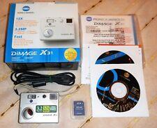 Konica Minolta Dimage X31 Digitalkamera (3 Megapixel)mit OVP