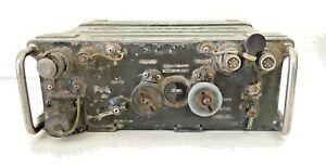 VTG RT-841 PRC-77 USMC MILITARY VIETNAM MANPACK RECEIVER RADIO TRANSMITTER (2)