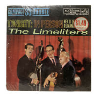 The Limeliters - Tonight: In Person (1961) 33 RPM Vinyl Record LP New Sealed