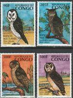 Eulen Kongo postfrisch 1035