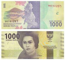 Indonesia 1000 Rupiah 2016  P-New  New Design Banknotes UNC