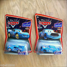 Disney PIXAR Cars DINOCO CHICK HICKS & BLING BLING MCQUEEN lot of 2 SUPERCHARGED