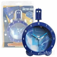 New Doctor Who TARDIS Topper Alarm Clock With Sounds Official Licensed