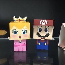 20pcs Wedding Favor Boxes Mario Princess Party Bride Groom Shower Gift Style 3D