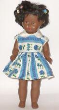 Alte farbige Puppe im orig. Karton Puppen Dolls Poupee Italy ? 38cm Mädchen girl
