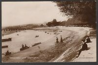 Postcard Barnstaple Devon view from South Walk posted 1915 RP by Dawson