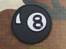 ECUSSON PATCH THERMOCOLLANT aufnaher toppa EIGHT BALL boule 8 old school biker