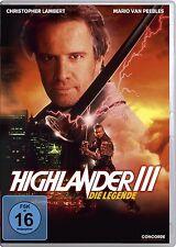 HIGHLANDER III (Christopher Lambert, Mario van Peebles) NEU+OVP Highlander 3