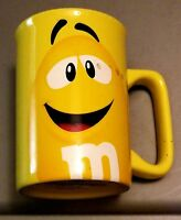 Tall M & M's Coffee Mug Yellow 2011