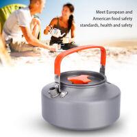 Camping Kettle Hot Tea Coffee Pot Aluminum Camping Hiking Picnic Compact Teapot