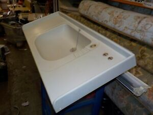 CLEARANCE Caravan Motorhome Hinged Sink with Plug - CBS6-DD-25