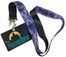 Disneyland Paris Disney Pin Trading Phantom Manor Lanyard Pass Ticket Holder
