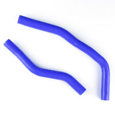 For 1992-2001 SUZUKI RM 80 RM80 Blue Silicone Radiator Water Hose Coolant Pipe