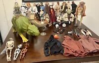 RARE: Star Wars HUGE LOT of Original VINTAGE Action Figures And Accessories