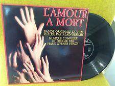LP BO OST - L'AMOUR À MORT - HANS WERNER HENZE - ALAIN RESNAIS- MILAN A 248
