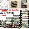 4/6/8/10 Tier Shoe Storage Shelf Rack Stand Organizer 12/18/24/30 Pairs Shoes