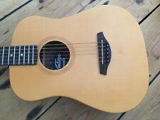 Vintage VTG100LH Left Handed Acoustic Travel Guitar + Gig Bag