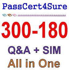 Cisco Best Practice Material For 300-180 Exam Q&A PDF+SIM