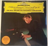 NEW SEALED Brahms Klavierkonzert Piano Concerto No. 1 Gilels Jochum DGG 180 g